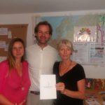 """Wivvi und Boris Matern stellten ihr Projekt """"Humanimity"""" vor (www.humanity.eu)"""
