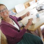 Lilian, unsere Gastgeberin in der Casa Creativa als Bauherrin